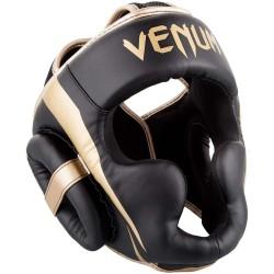 Venum Elite Headgear Black Gold