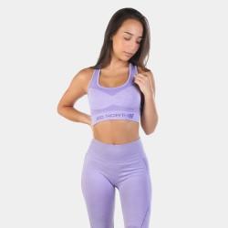 Jed North Supple Seamless Sports Bra Purple