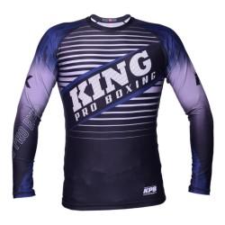 King Pro Boxing Stormking 3 Rashguard Blue