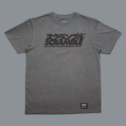 Scramble Counterculture T-Shirt Heather Grey