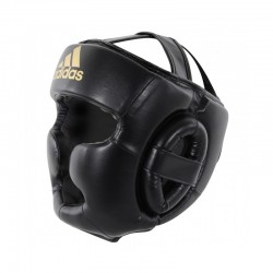 Adidas Speed Super Pro Training Headguard Black Gold