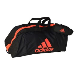 Adidas Martial Arts 2 in 1 Bag schwarz-rot L