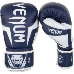 Venum Elite Boxing Glove Navy White