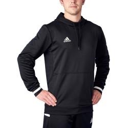 Adidas T19 Hoodie Black White DW6860