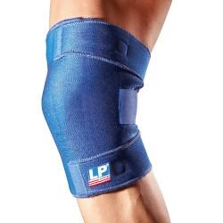 LP-Support 756 Basic Geschlossene Wickel Kniebandage Blau