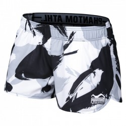 Phantom Training Short Concrete Women Black White