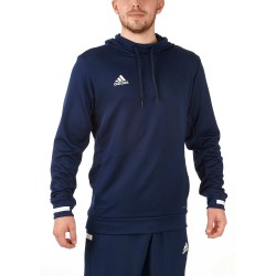 Adidas T19 Hoodie Navy White DY8825