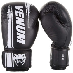 Venum Bangkok Spirit Boxing Gloves Leather Black