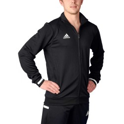 Adidas T19 TRK Jacket Black White DW6849