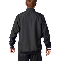 Adidas T19 WOV Jacket Black White DW6876