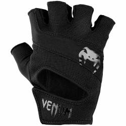 Venum Hyperlift Training Gloves Black Black