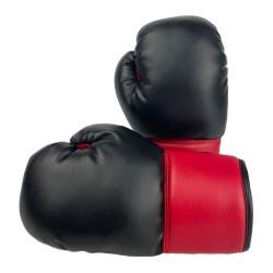 Kinder Boxhandschuhe Kids Black Red 6oz