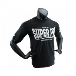Super Pro S.P. Logo T-Shirt Schwarz Weiss Kids