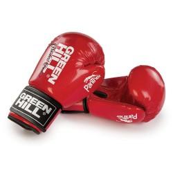 Green Hill Panther Boxhandschuhe Rot Ohne Trefferfläche