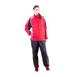 Hayashi Trainingsanzug Rot Schwarz