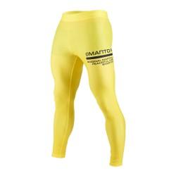 Manto Future Grappling Tights Yellow