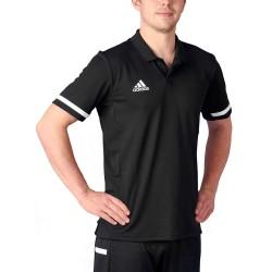 Adidas T19 Polo Shirt Black White DW6888