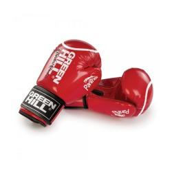 Green Hill Panther Boxhandschuhe Rot Mit Trefferkreis
