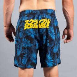 Scramble Indigo Camo Grappling Shorts