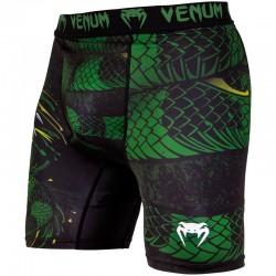 Venum Green Viper Compression Shorts Black Green