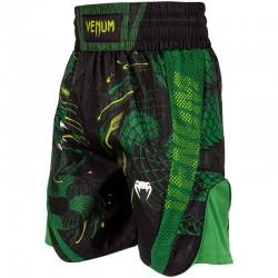 Venum Green Viper Boxing Shorts Black Green