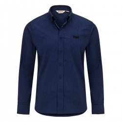 Lonsdale Fairford Herren Slim Fit Shirt LS