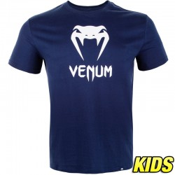 Venum Classic T-Shirt Kids Navy Blue