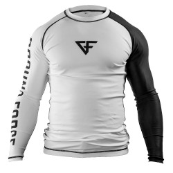 Ground Force Rank Rashguard LS Black