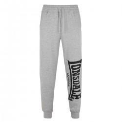 Lonsdale Logo Large Herren Jogging Pants Grey