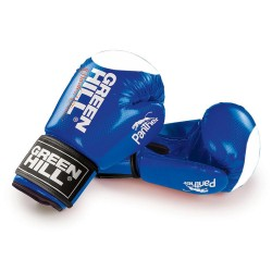 Green Hill Panther Boxhandschuhe Blau Mit Trefferfläche