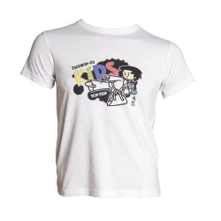 Top Ten ITF Kids T-Shirt Weiss