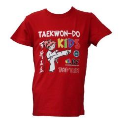 Top Ten ITF Kids T-Shirt Rot