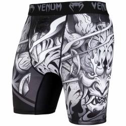 Venum Devil Vale Tudo Shorts White Black