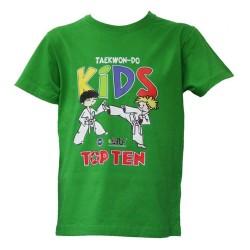 Top Ten ITF Kids T-Shirt Grün