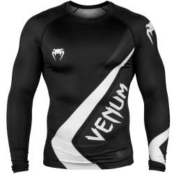Venum Contender 4.0 Rashguard LS Black Grey White