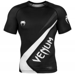 Venum Contender 4.0 Rashguard SS Black Grey White