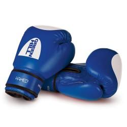 Green Hill Hamed Boxhandschuhe Blau Mit Trefferfläche