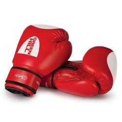 Green Hill Hamed Boxhandschuhe Rot Mit Trefferfläche