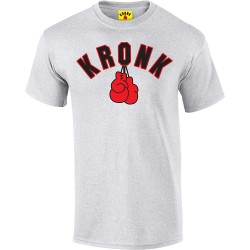 Kronk Gloves T-Shirt Ash Grey
