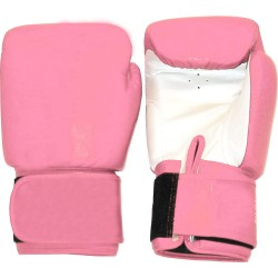 Tiger Boxhandschuhe Leder Pink Weiss