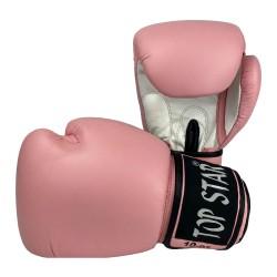Tiger Boxhandschuhe Leder Pink White