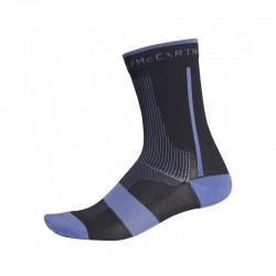 Adidas T19 Ankle Socks Black Purple DW9553