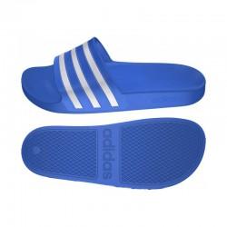 Adidas T19 Adilette Aqua Blue White F35541