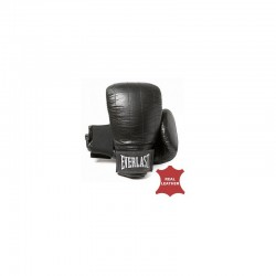 Everlast Boston Pro Bag Gloves Leder Black 1801