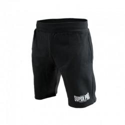 Super Pro Jogging Shorts Schwarz Weiss