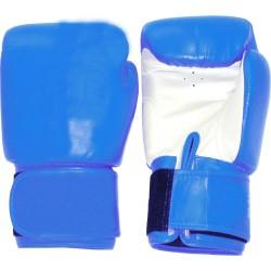 Tiger Boxhandschuhe Leder Blau Weiss