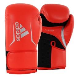 Adidas Speed 100 Boxhandschuhe Rot Schwarz Silber