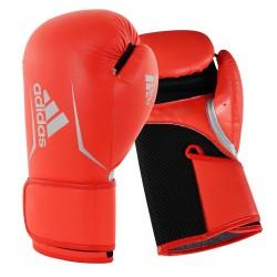 Adidas Speed 100 Damen Boxhandschuhe Rot Schwarz Silber