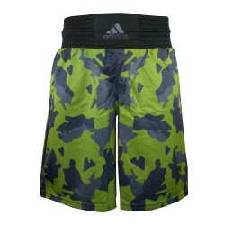 Adidas Multiboxing Fightshort Camo Green Black