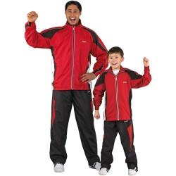Kwon Performance Micro Trainingsanzug Rot Schwarz Weiss Kids